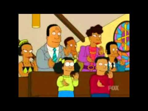 Simpsons Go To Black Church