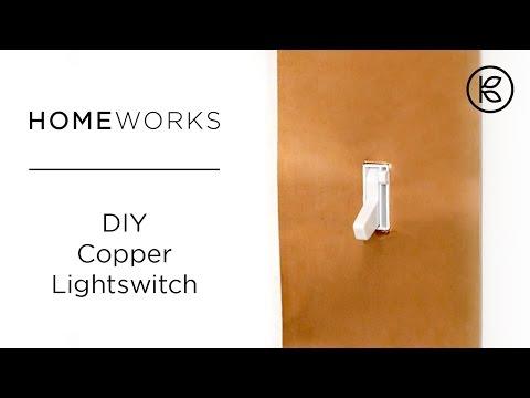 DIY Copper Light Switch | Kin Community