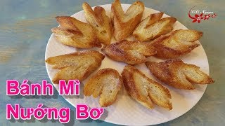 Ăn Vặt Cuối Tuần Với Món Bánh Mì Nướng Bơ Rãi Đường - LiLi Nguyen