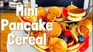 Mini Pancake Cereal Recipe My Twist On The Viral TikTok Video