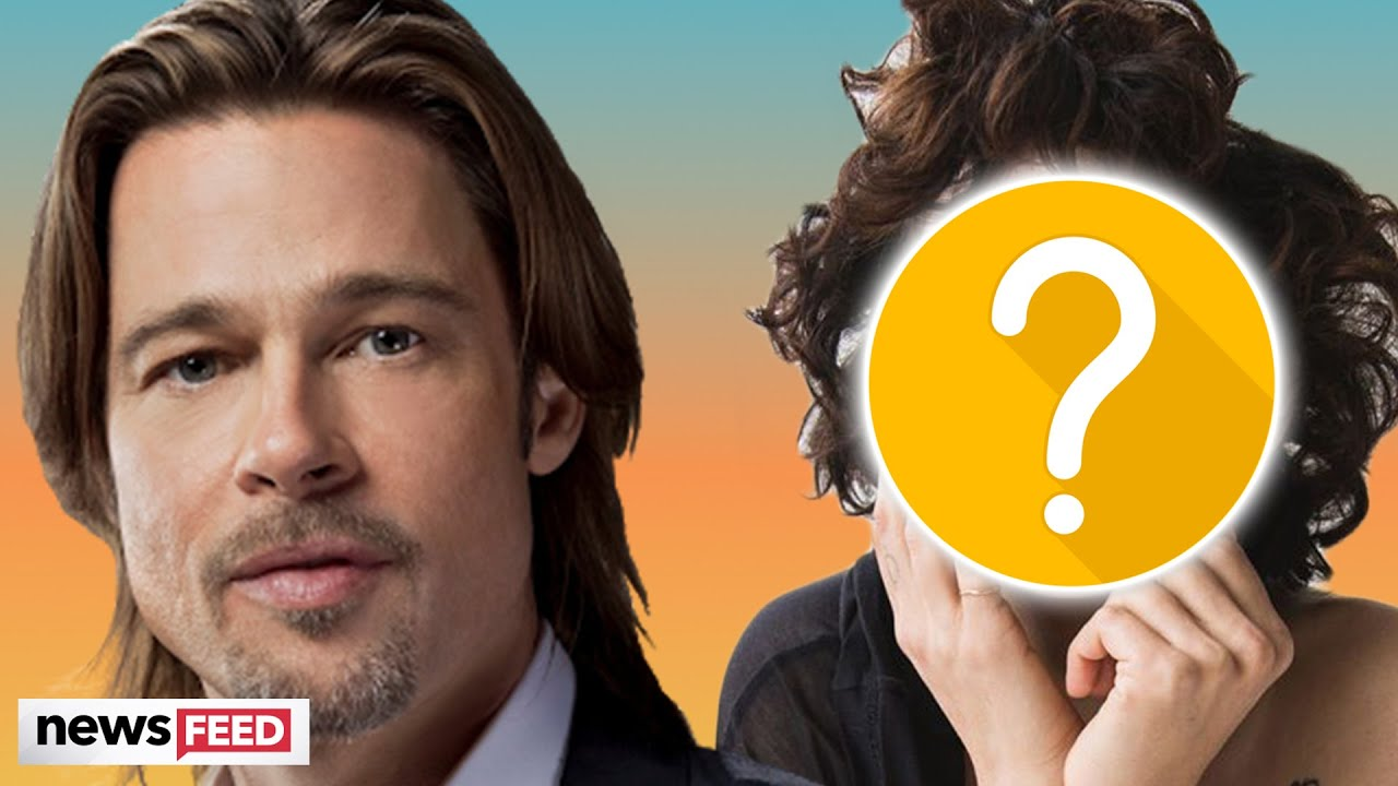 Brad Pitt's Rumored GIRLFRIEND Speaks Out About Relationship!