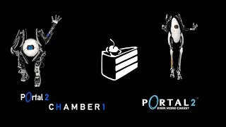 Portal 2 Co-Op Campaign WNex And Hermes- Chamber 1
