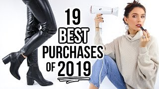 My 19 BEST Purchases of 2019! *you NEED these*