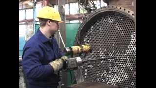 Ремонт титанового теплообмінника цеху азотної кислоти