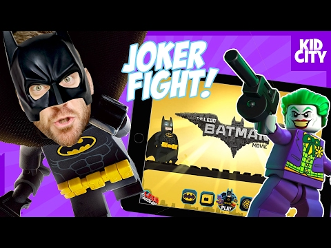 The Joker Boss Fight! LEGO Batman Movie Mobile Game Play | KIDCITY