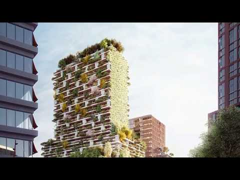 Holland's first vertical forest by stefano boeri