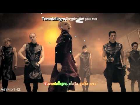 [HD] XIA Junsu - Tarantallegra (English version) [esp + rom + english + karaoke]