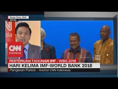 Hari Kelima IMF-World Bank, Jokowi Kritik Perang Dagang & Analogi Ekonomi
