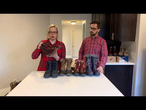 Обзор мужской и женской зимней обуви в Канаде