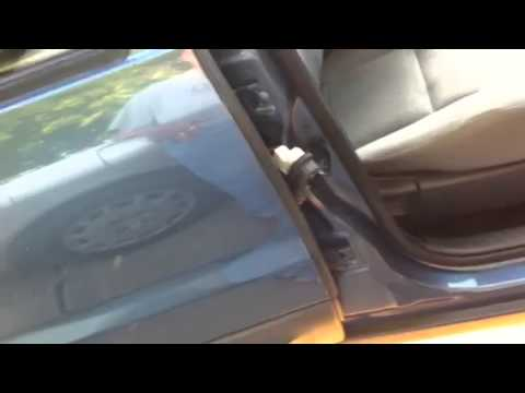 2006 ford escape intermittent alarm and door ajar issues - YouTube