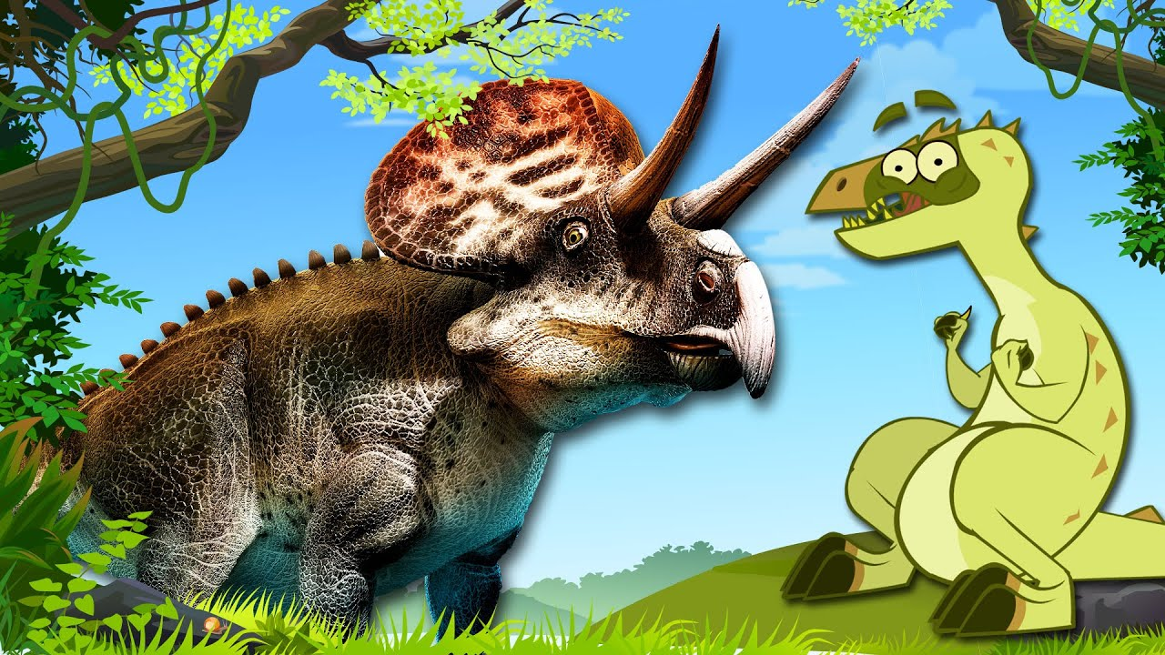 I'm A Dinosaur - Zuniceratops Meets Cartodontosaurus | Funny Cartoon For Kids