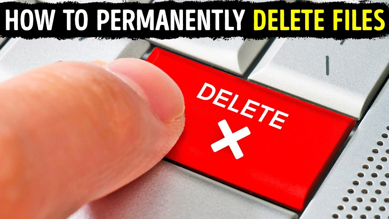 When you Delete Files, They're not Really Gone