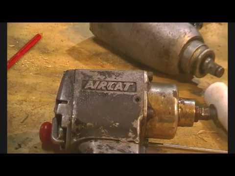 Air impact tool fix/repair  Aircat impact gun back in service