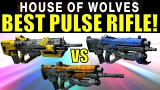 Destiny: BEST PvP PULSE RIFLE! | Hopscotch Pilgrim vs The Messenger vs Spare Change.25!
