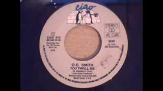 o. c. smith - you thrill me