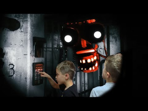 Secret Passcode Reveals Freddy's Face!  Joy of Creation: Story Mode Twin Toys Kids Jumpscare