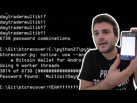 Brute-force Your Bitcoin Wallet - Install Python2.7 For Btcrecover