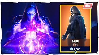 """Fortnite Omen Skin Gameplay """"New Fortnite Skins Gameplay"""" (Omen Skin Fortnite Gameplay)"""
