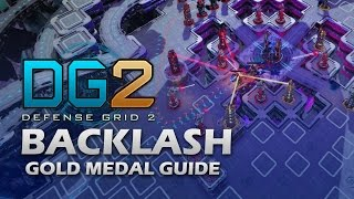 #20 BACKLASH (THE ENDING) Gold Medal - Defense Grid 2