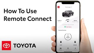 How To Use Remote Connect in the Toyota App | Toyota screenshot 1