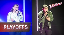 Playoffs: Josh 'Blinding Lights' v Adam 'Call Out My Name' | The Voice Australia 2020