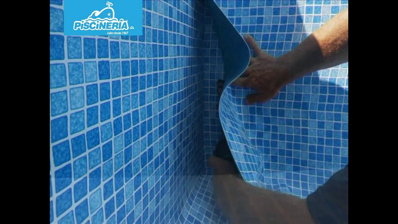 Revestimiento membrana de pvc liner piscineria youtube for Revestimiento de vinilo