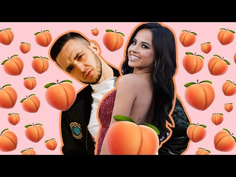 Becky G and C Tangana Guess Celebrity Booties