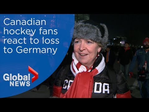 Pyeongchang 2018: Canadian hockey fans react to heartbreaking loss to Germany
