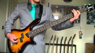 The Jam - Down In The Tube Station At Midnight Bass Cover