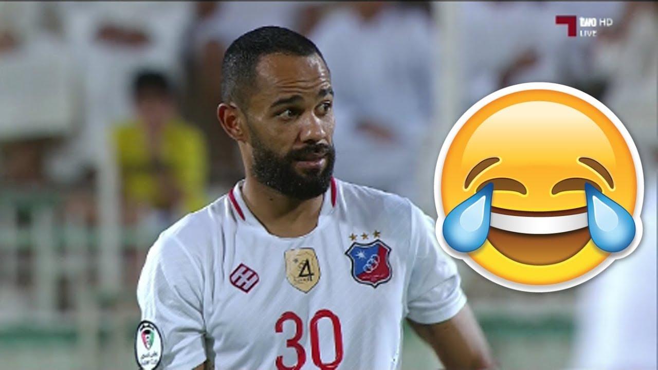 هدف مضحك من صابر خليفة مع الكويت الكويتي