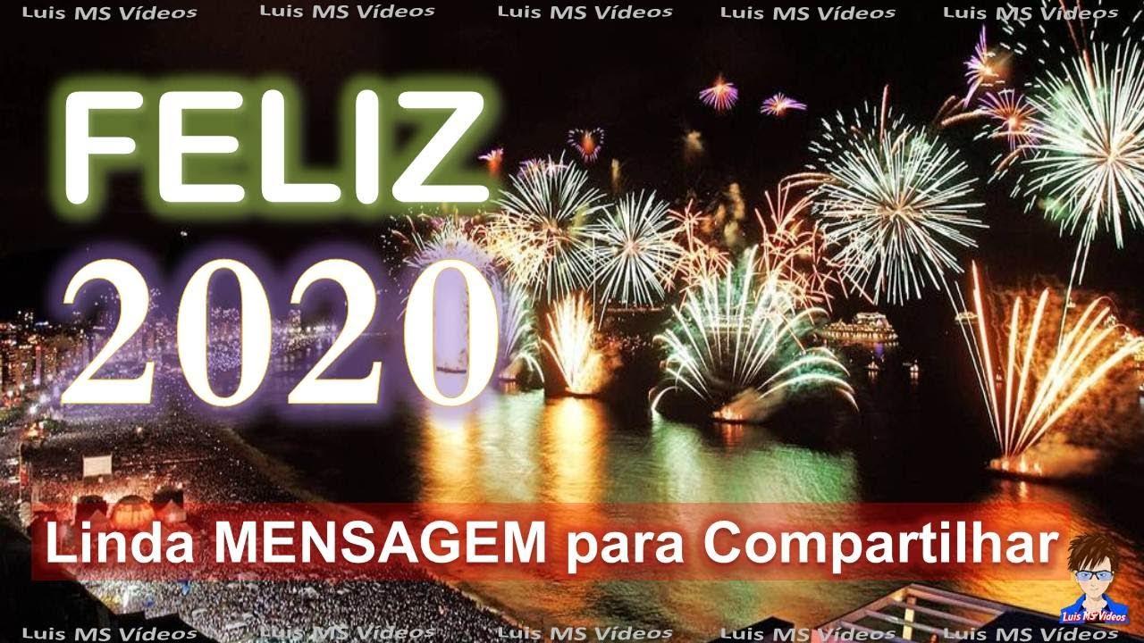 Foto Foto Feliz 2020 Mensagem De Feliz Ano Novo Pa