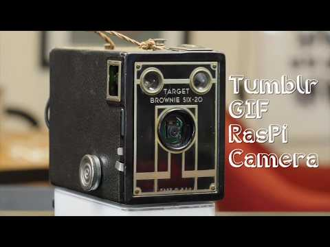 Retro Raspberry Pi Tumblr GIF Camera: 10 Steps (with Pictures)