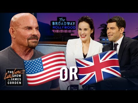 Michelle Dockery & Max Greenfield Guess: UK or US?