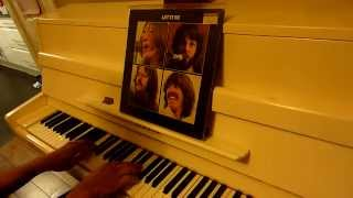 Solo piano version of The Beatles