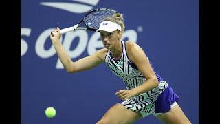 Elise Mertens vs Sofia Kenin | US Open 2020 Round 4