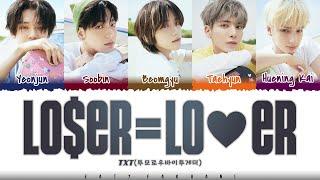 Download TXT (투모로우바이투게더) - 'LO$ER=LO♡ER' Lyrics [Color Coded_Han_Rom_Eng]