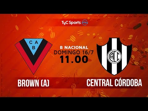 Primera B Nacional: Brown (A) vs. Central Códoba | #BNaciona