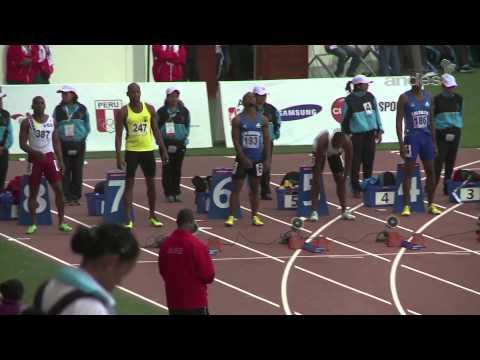 Atletismo - Juegos Bolivarianos Trujillo 2013