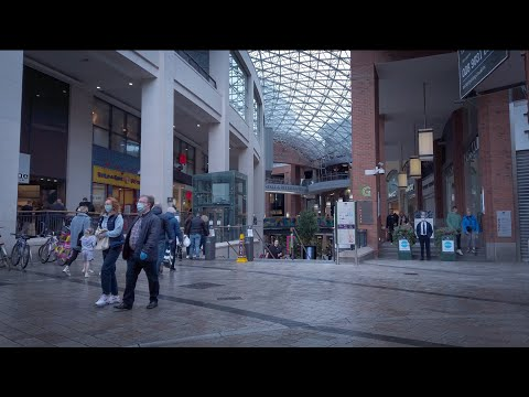 BELFAST CITY CENTER WALK : CROWDS RETURN & SHOPS FINALLY REO