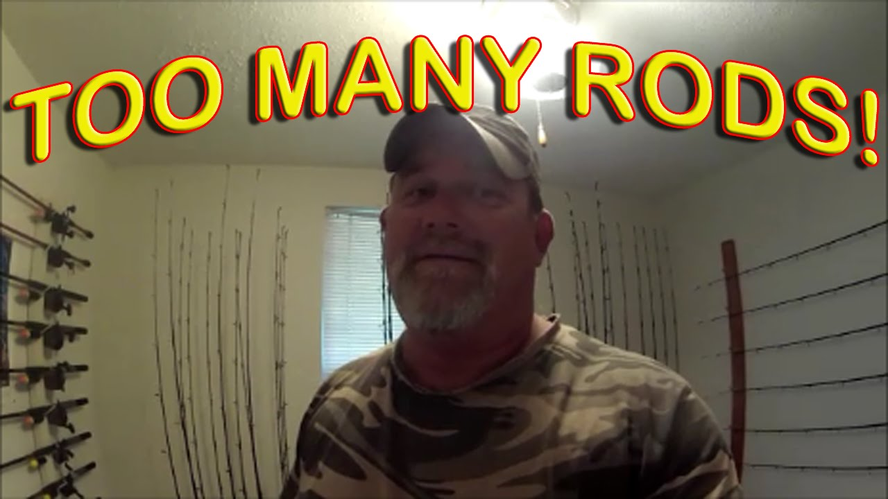 Fishing Rod Racks Make Your Own Cheap Youtube