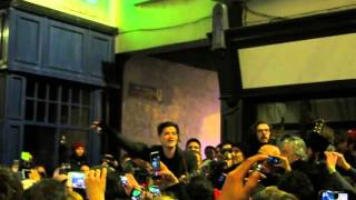 Danny (the Script) & Hozier - Christmas Busk - Grafton Street 24 Dec 2015