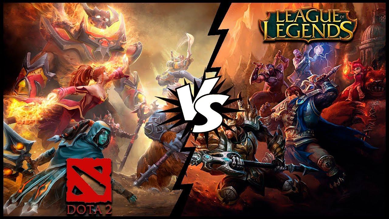 Dota 2 Oder League Of Legends