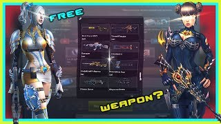 TOP 50 WEAPON FOR FREE HOT TIME [Free Time Event] CSNZ COUNTER STRIKE NEXON ZOMBIES