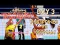PHILIPPINES vs. VIETNAM | SET 2/5 | ASEAN VOLLEYBALL GRAND PRIX 2019 | DAY 3