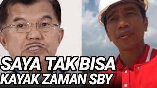JK BLAK2AN TAK LELUASA DI KABINET JOKOWI;KERJANYA CUMA TUKANG KONTROL;BEDA DG ZAMAN SBY;PILPRES 2019