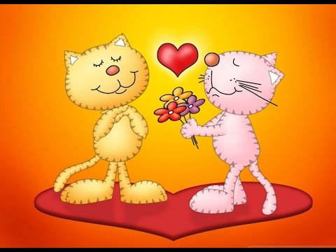 Веселое поздравления с днем Святого Валентина - Видео на ютубе