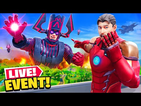 *NEW* GALACTUS EVENT SECRET in Fortnite! (LIVE EVENT)