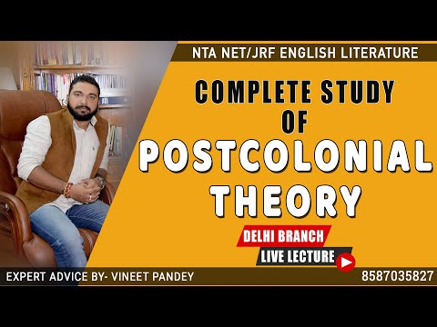 postcolonialism - a detailed lecture for ugc net english literature 8587035827