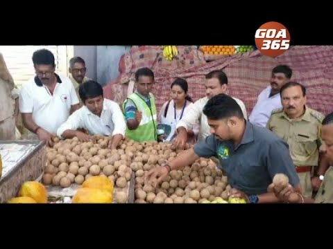 FDA raid Panjim Markets, seizes fruits & veggies