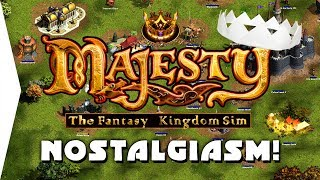Majesty Gold HD ► Nostalgic Medieval Week - DAY 1 Gameplay! - [Nostalgiasm]